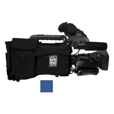 Porta Brace Camera Body Armor for Panasonic AJ-HPX370, Blue