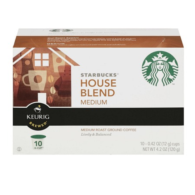 Starbucks Coffee House Blend K-Cups