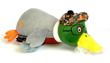 Duck Dynasty Si Duck Plush Dog Toy Large