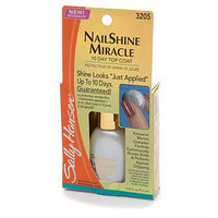 Sally Hansen Complete Treatment Nail Shine Miracle 10 Day Top Coat 3205
