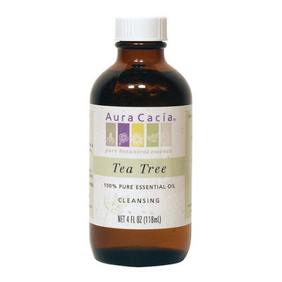 Aura Cacia Tea Tree, Essential Oil, 4 oz. bottle