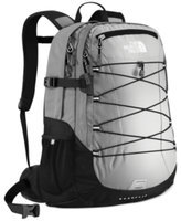 The North Face Womens Borealis Backpack - Metallic Silver Ripstop/Black