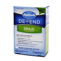 Hyland's Defend Sinus Quick Dissolving Tablets