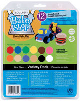 Sculpey Bake Shop Clay Variety Pack 14 Ounces