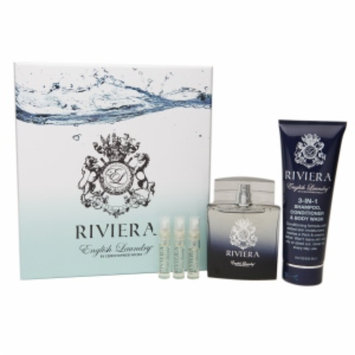 English Laundry Riviera 5 Piece Gift Set Eau de Toilette, 3.4 fl oz