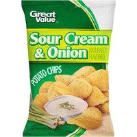 Great Value(tm) Sour Cream & Onion Potato Chips, 8 oz