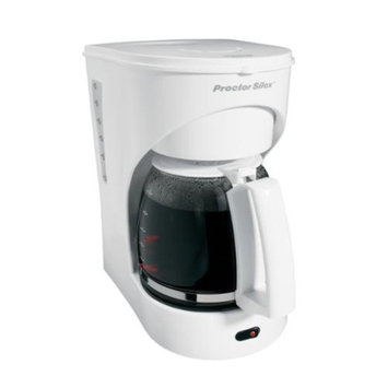 New Proctor Silex 43531Y 12 Cup Pause & Serve Countertop Coffee Maker Machine