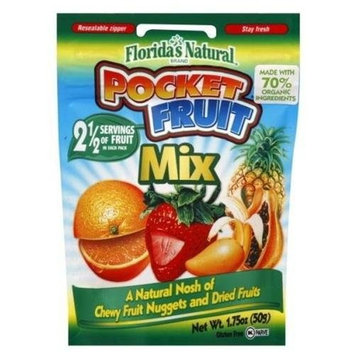 Kehe Distributors Florida Natural Pocket Fruit to Go Mix, 1.7500-Ounce (Pack of6)