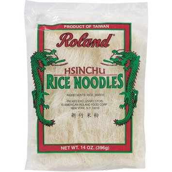 Roland Hsinchu Rice Noodles, 14-Ounce (Pack of 8)