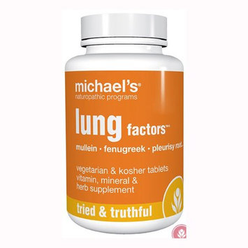 Michael's Health Products Lung Factors - 60 Tablets - Other Herbs