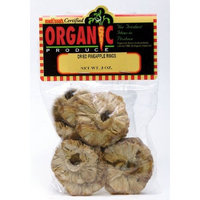 Melissa's Organic Dried Pineapple Rings, 3 packages (3 oz)