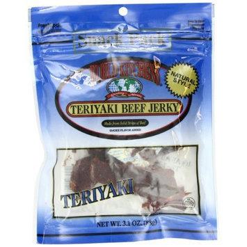 World Kitchens Teriyaki Beef Jerky, 3.1-Ounce (Pack of 4)