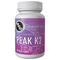 Advanced Orthomolecular Research AOR, Advanced Series, Peak K2, 90 Veggie Caps