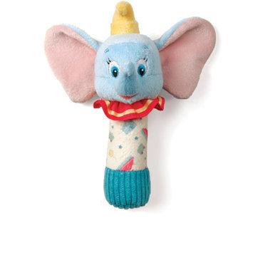 Kids Preferred Disney Baby Dumbo Stick Rattle