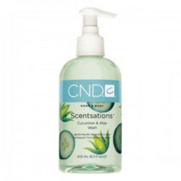 Cnd Cosmetics Creative Nail Design Scentsations Cucumber & Aloe Body Wash 8.3 oz.
