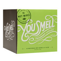 You Smell Wet Wipes with Aloe, Honeydew Mint, 6 oz