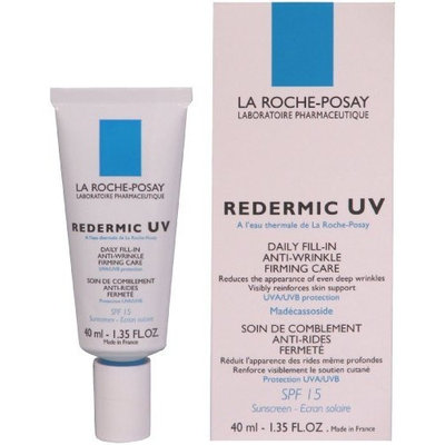 La Roche-posay Redermic UV Daily Fill-in Firming Care with SPF 15 Sunscreen, 1.35-Ounce