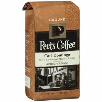 Peet Pete's Coffee Cafe Domingo Medium Roast Ground Coffee
