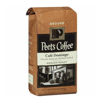 Peet Pete's Coffee Cafe Domingo Medium Roast Ground Coffee