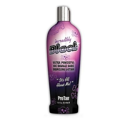 Pro tan PT-00-1088 Pro Tan Incredibly Black Double Dark Bronzing Lotion, 8.5 Ounce