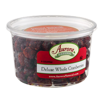 Aurora Natural Deluxe Whole Cranberries