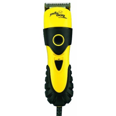 Conair Yellow Dog 2-in-1 Clipper/Trimmer Kit, Dog Home Grooming, Yellow
