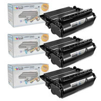 LD Compatible Lexmark 64015HA Set of 3 Black Laser Toner Cartridges for the T644tn, T642dtn, T640, T642tn, T640dtn, T644dn, T640tn, T644n, T642dn, T642n, T640dn, T644, T640n, T644dtn, T642 Printers