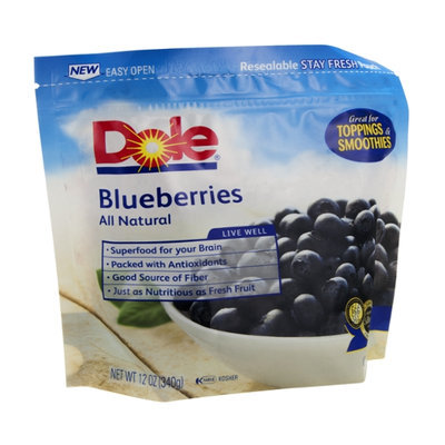 Dole Blueberries All Natural