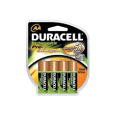 Duracell Rechargeable StayCharged Batteries