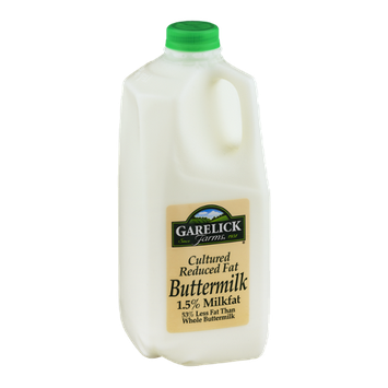 Garelick Farms 1.5% Milkfat Buttermilk Cultured Reduced Fat