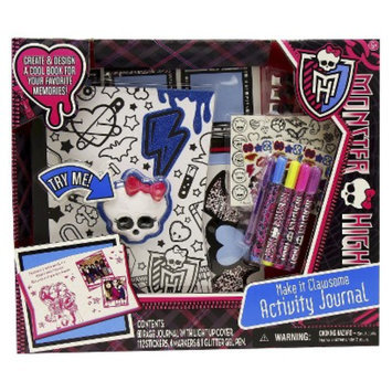 Monster High Color N' Style Activity Journal