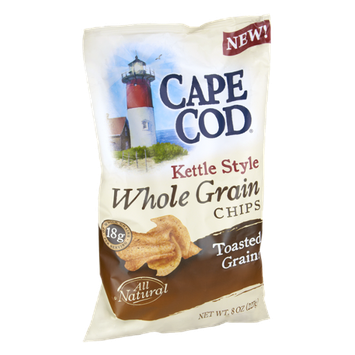 Cape Cod Kettle Style Whole Grain Toasted Grains Chips