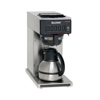 Bunn Coffee and Espresso Machines and Accessories CW-TC 60 oz. Commercial Thermal Carafe Coffee Brewer Black 23001.0040