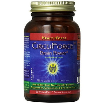 Healthforce Circuforce Brain Power, Vegancaps, 90-Count
