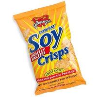 Glenny's Low Fat Soy Crisps, Lightly Salted, 1.3-Ounce Bags (Pack of 24)