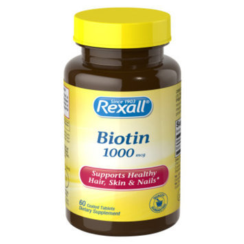 Rexall Biotin 1000 mcg - Tablets, 60 ct
