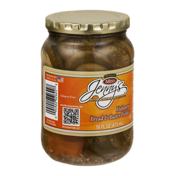 Miss Jenny's Habanero Bread & Butter Pickles