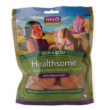 Halo, Purely For Pets Healthsome Skin and Coat Dog Treats with Dream Coat