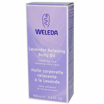 Weleda Relaxing Body Oil Lavender 3.4 fl oz