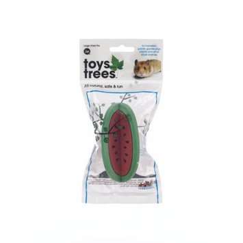 JW Pet Company Toys from Trees Watermelon Small Animal Toy, Large