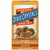 Dixie Crystals : Light Pure Cane Brown Sugar