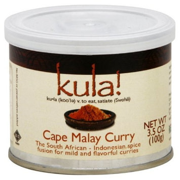Kula African Spices Spice, Curry, Cape Malay, 3.5-Ounce (Pack of 3)