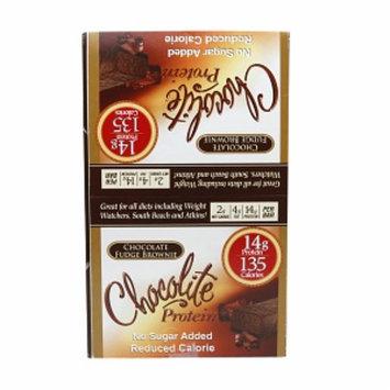 Chocolite Sugar Free Protein Bars, Chocolate Fudge Brownie, 16 ea