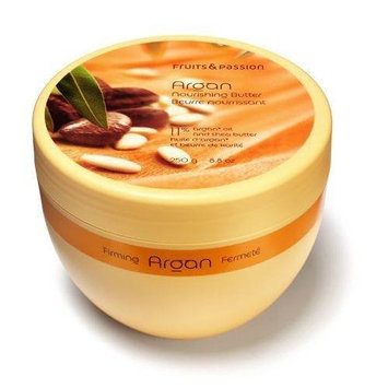 Fruits & Passion Nourishing Collection Body Butter, Argan, 8.8-Ounce Jar