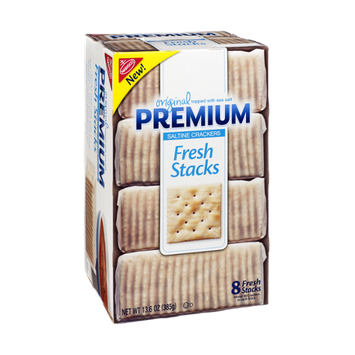 Nabisco Premium Original Fresh Stacks Saltine Crackers