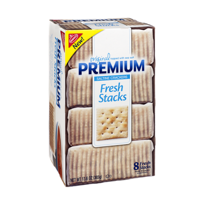 Nabisco Premium Original Fresh Stacks Saltine Crackers