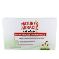Nature's Miracle® Flowering Meadow Scent Release Dog & Puppy Training Pads