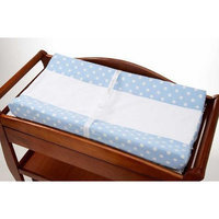 NoJo 2 Pack Dot Changing Table Cover - Brown withIvory Dots