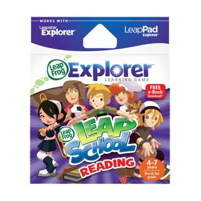 LeapFrog Explorer Learning Game - LeapSchool Reading