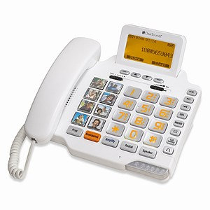 ClearSounds Communications CS1000 Amplified Freedom Phone with Digital Answering Machine